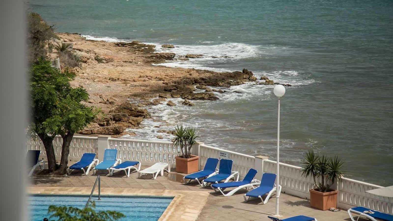 Carlos III Hotel in Alcanar - San Carlos de la Rapita -the Ebro Delta