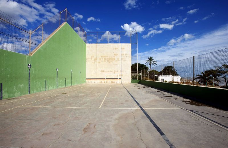 Fronton game at the Carlos III Hotel