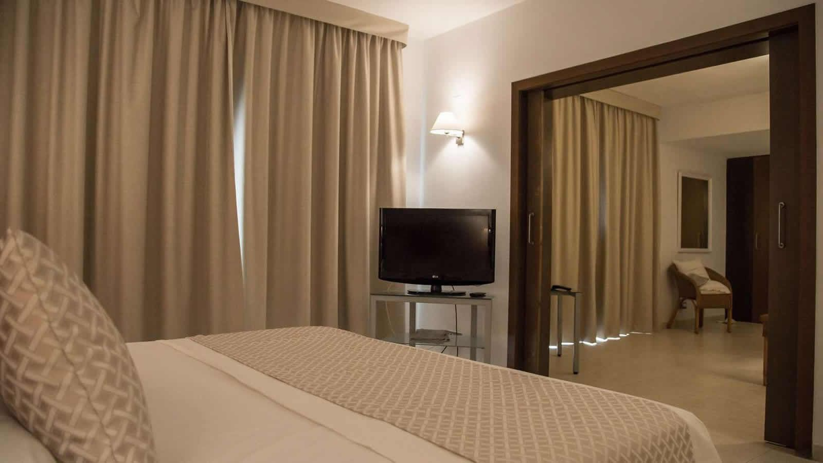 Delta Suite Room at the Carlos III Hotel in Alcanar - San Carlos de la Rapita – the Ebro Delta