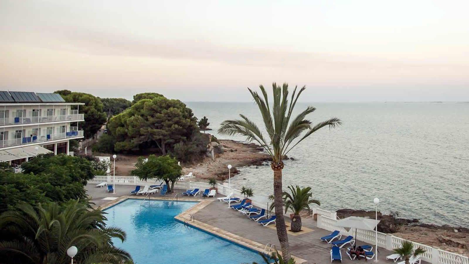 Piscinas al mar Mediterraneo, Delta del Ebro