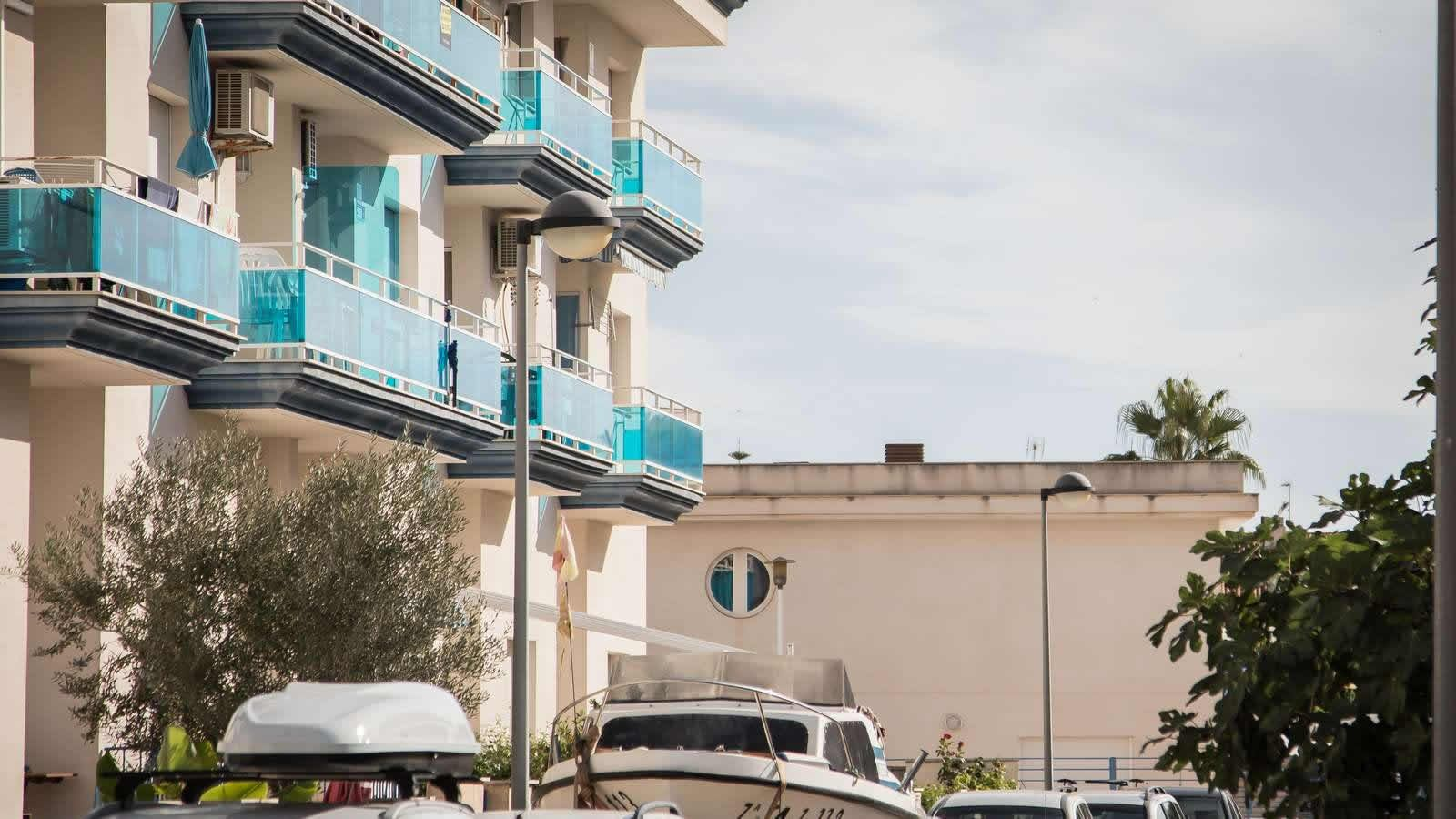 Apartments at the Carlos III Hotel in Alcanar - San Carlos de la Rapita – the Ebro Delta