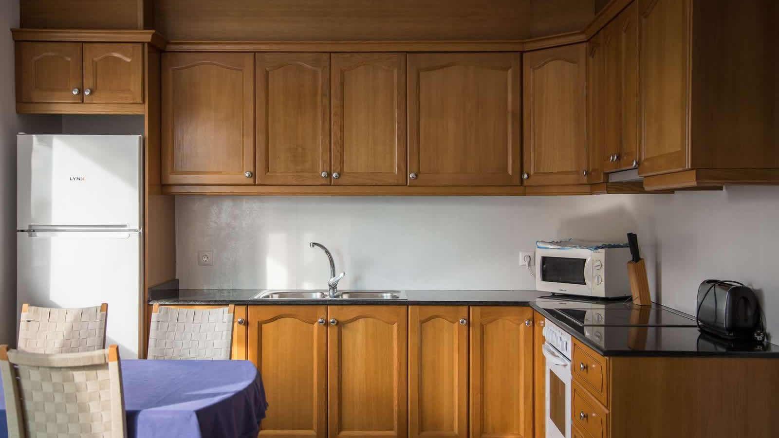 Características de los Apartamentos del Hotel Carlos III en Alcanar - San Carlos de la Rápita - Delta del Ebro