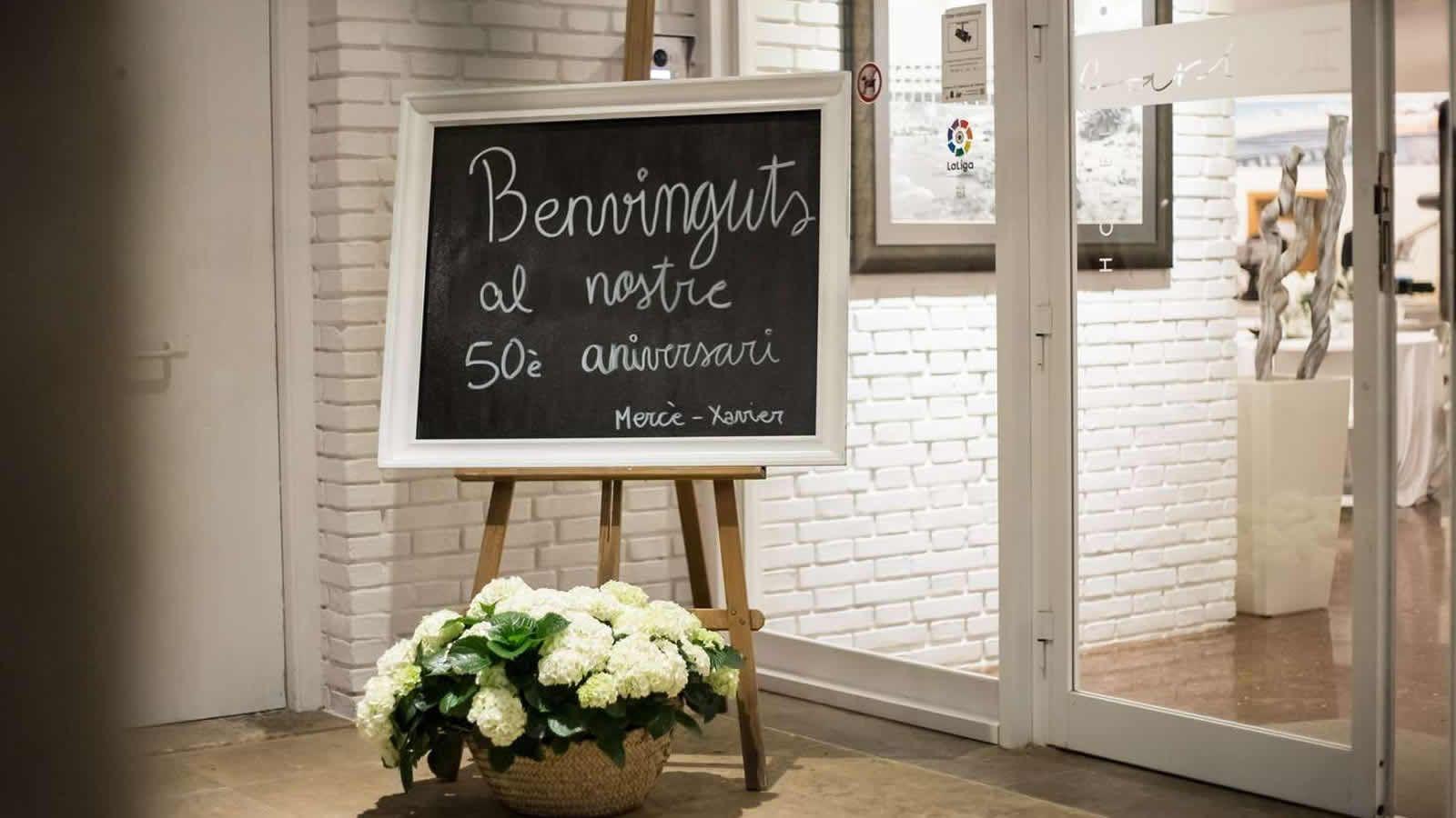 Fetes d'anniversaire, mariage, baptême à l'Hôtel Carlos III à Alcanar - Saint carles de la Rapita- Delta de l'Ebre