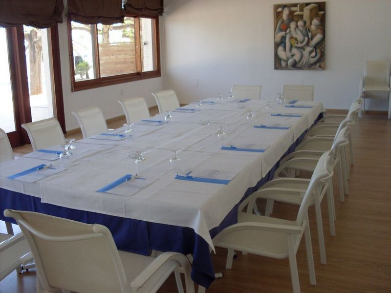 Sejour pour entgreprises à l'Hôtel Carlos III à Alcanar- Saint carles de la Rapita- Delta de l'Ebre