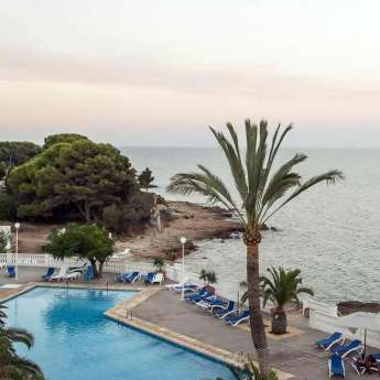 Swimming Pools at the Carlos III Hotel in Alcanar - San Carlos de la Rapita – the Ebro Delta