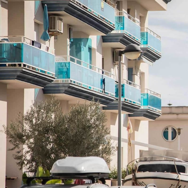 Apartments at the Carlos III Hotel in Alcanar - San Carlos de la Rapita – the Ebro Delta